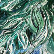 Irina Sztukowski - Abstract Floral Tickling Breeze