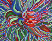 Janice Dunbar - Abstract Flower