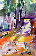 Ginette Fine Art LLC Ginette Callaway - Abstract Forest Path #2