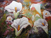 Barbara Haviland - Abstract Fractured Calla...