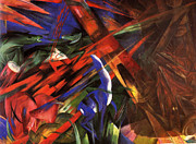 Mental Paintings - Abstract  by Franz Marc