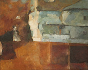 Colors Of Autumn Originals - Abstract House Forms by Timothy Scott