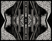 Jeff Breiman - Abstract In Black And White