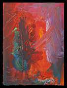 Tracy L Teeter - Abstract in Red