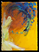 Tracy L Teeter - Abstract in Yellow and...