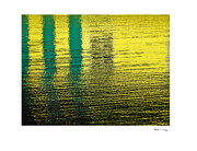 Xoanxo Cespon Posters - Abstract Lake Reflections 3 Poster by Xoanxo Cespon