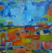 Annmarie Vierick Art - Abstract Landscape by Annmarie Vierick
