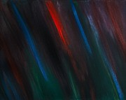 Prophetic Paintings - Abstract No 3 Gratiae Dei by Brian Broadway
