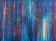 Abstract Oil Paintings - Abstract No 7 Beati Qui Vident by Brian Broadway