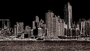 Scott Schlaff - Abstract NY Skyline