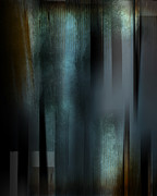 Earth Tone Prints - Abstract Opal metal Print by Michael Huddleston