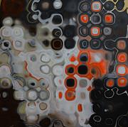 Abstract Orange Digital Print Print by Andrada Anghel