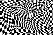 Chessboard Posters - Abstract - Ow my eyes Poster by Mike Savad