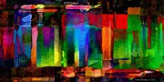 Michael C Geraghty - Abstract Palette March...