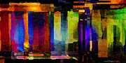 Distortion Digital Art Prints - Abstract Palette March 2013 - 007 - AMCG Print by Michael C Geraghty