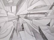 John Malone - Abstract Pencil Drawing