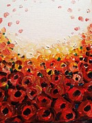 Hae Kim - Abstract poppies 2