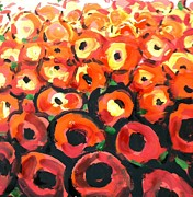 Hae Kim - Abstract poppies