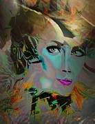 Doris Wood - Abstract Portrait of a...