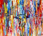 Karen Tarlton - Abstract Rain