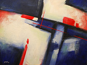 Glenn Pollard - Abstract Red Blue
