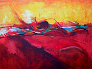 Zaher Bizri - Abstract Red Zaher Bizri...