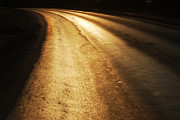 Still Life Photographs Originals - Abstract Road by Gurpreet Artist