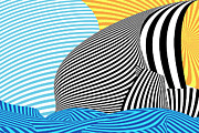 Mike Savad - Abstract - Sailing