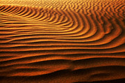 Sahara Sunlight Framed Prints - Abstract sand pattern  Framed Print by Sorin Rechitan