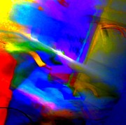 Multi-color Digital Art - Abstract Satisfaction by Randall Weidner
