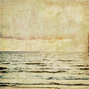 Abstract Sea Print by Brandi Fitzgerald