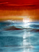 Abstract Seascape Print by Natalie Kinnear