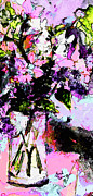 Ginette Fine Art LLC Ginette Callaway - Abstract Still Life in Lavender