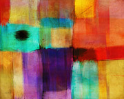 Corporate Art Mixed Media - Abstract Study Three by Ann Powell by Ann Powell