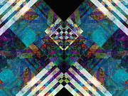 For Modern Decor Framed Prints - Abstract Symmetry  Framed Print by Ann Powell