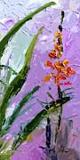 Ginette Fine Art LLC Ginette Callaway - Abstract Tall Floral Modern Decor