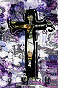 Ginette Fine Art LLC Ginette Callaway - Abstract The Crucifixion by Ginette