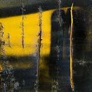 Grafitti Photos - Abstract Train Art by Carol Leigh