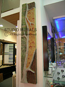 Carving Reliefs Originals - Abstract Tree form by Milind Badve