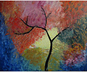 Abstract Tree Print by Jnana Finearts