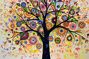 Abstract Tree Painting ... Life Giver Print by Amy Giacomelli