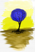 Art Photography - Abstract Tree Painting