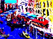 Universal Language Prints - Abstract VENICE Print by Jonathan Tyson