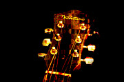 Guitar Stings Prints - Abstract - Ventura Highway - Guitar - Musician Print by Andee Photography