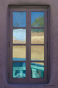 Illustration Art Photos - Abstract Window Reflections by Dave Gordon