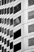 Repetition Photos - Abstract windows - black and white by Hideaki Sakurai