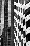 Repetition Photos - Abstract windows II - black and white by Hideaki Sakurai