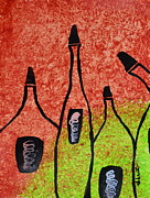 Shruti Shubham - Abstract Wine Painting1