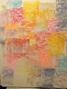 Featured Pastels Framed Prints - Abstract#1 Framed Print by Patrick Davis