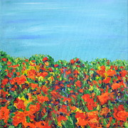 Regina Valluzzi - abstracted rosebed